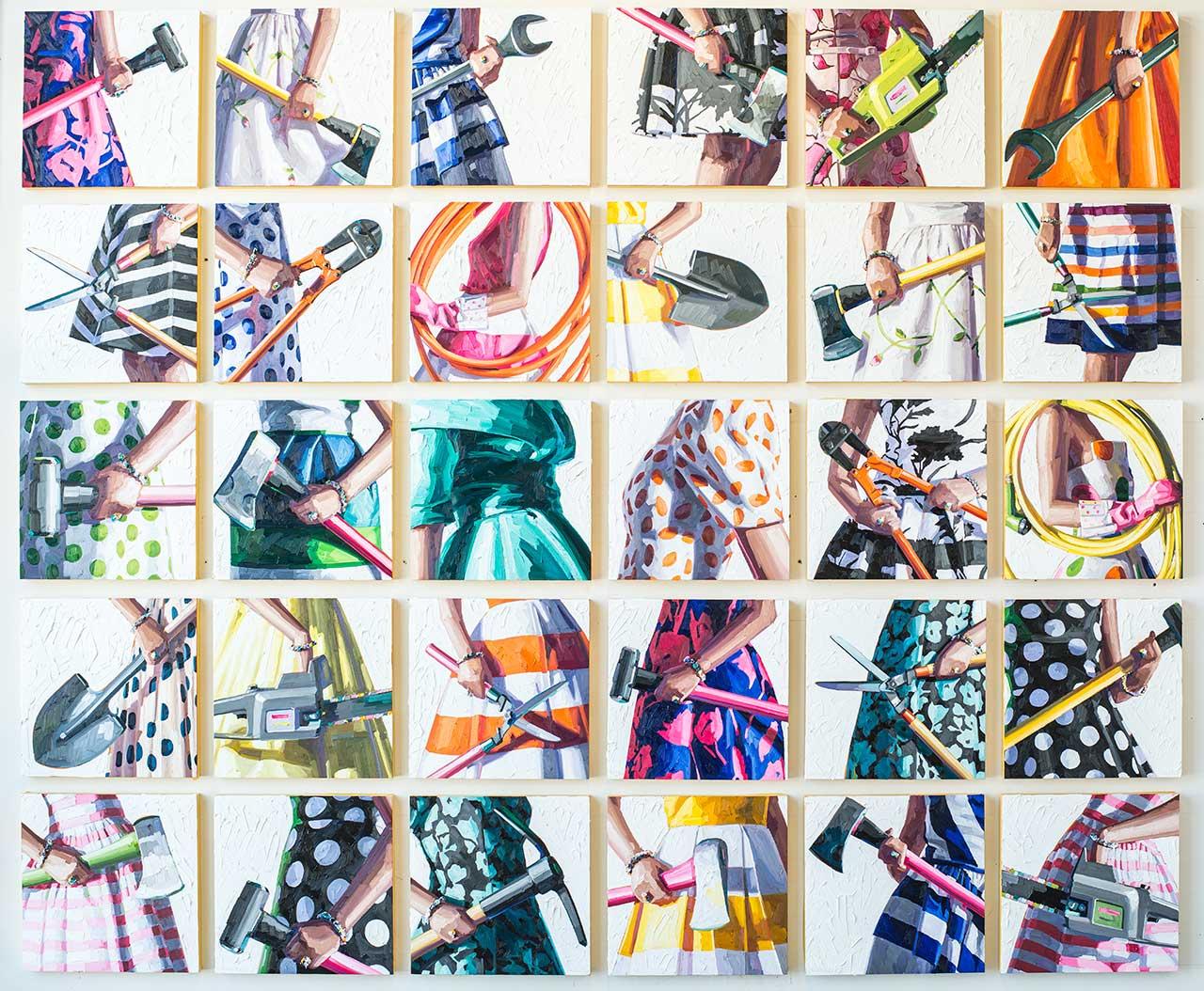 How Artist Kelly Reemtsen Explodes Notions of Femininity