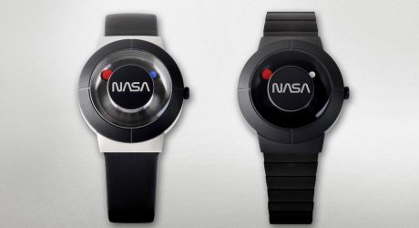 The Anicorn x NASA Space Watch Honors One of the Most Iconic Logotypes Ever
