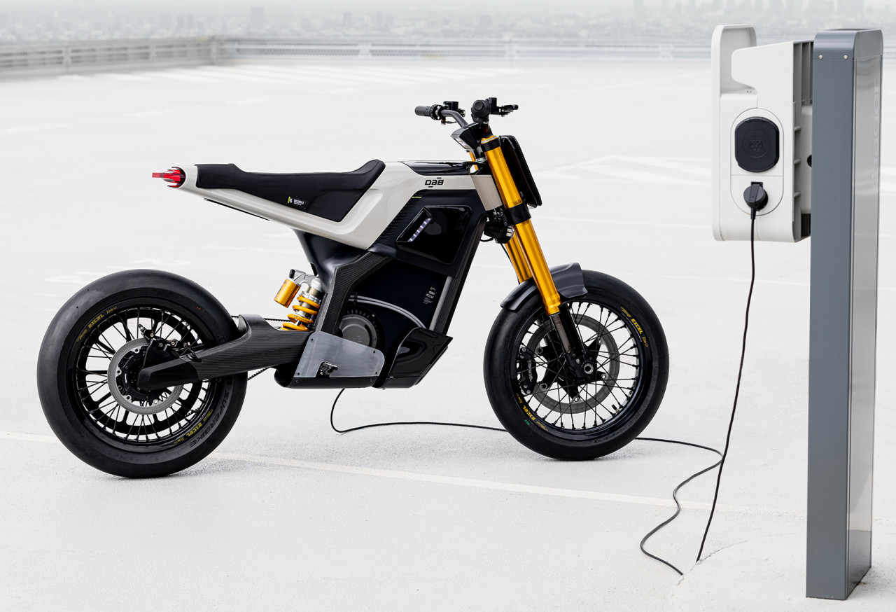 DAB Motors CONCEPT-E Silently Redefines the Commuter Bike With Supermoto Styling