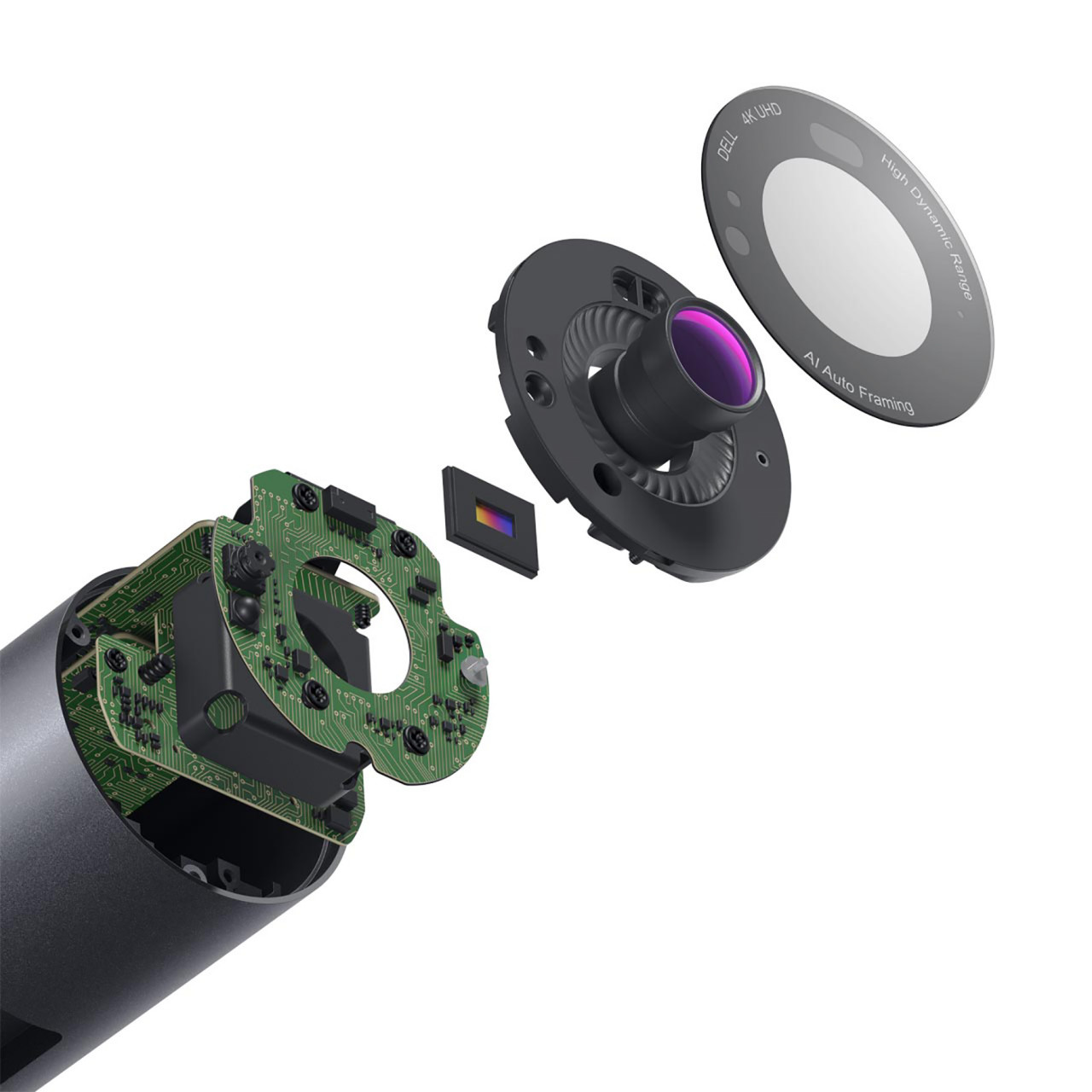 Dell UltraSharp Webcam Is Sharply Designed with an Even Sharper 4K Picture