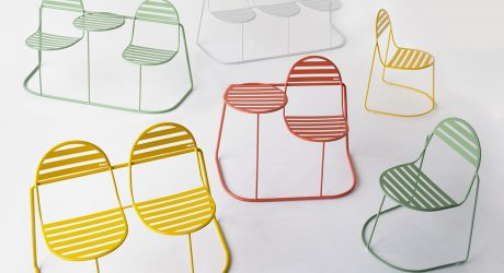 Vivid Color + Smooth Curves Highlight the Bubbles Outdoor Furniture Collection