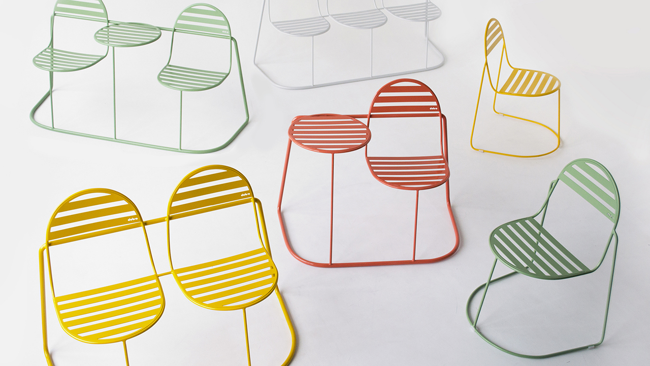 metal outdoor seating collection