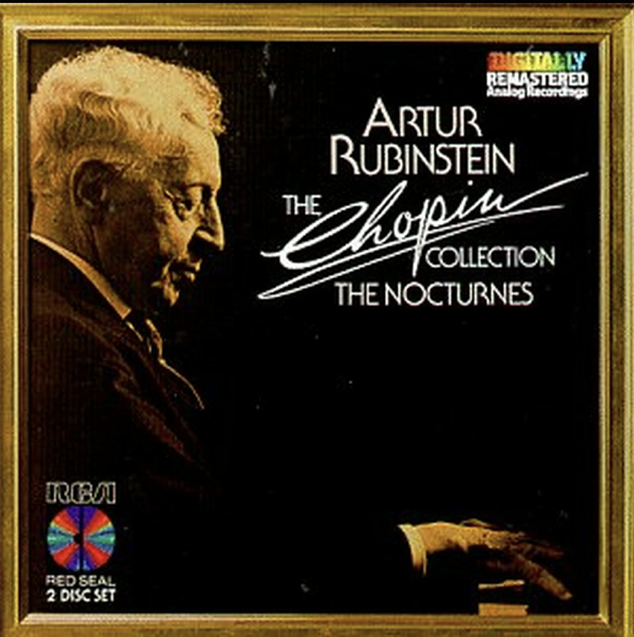 cover of Arthur Rubenstein's The Chopin Collection The Noctures