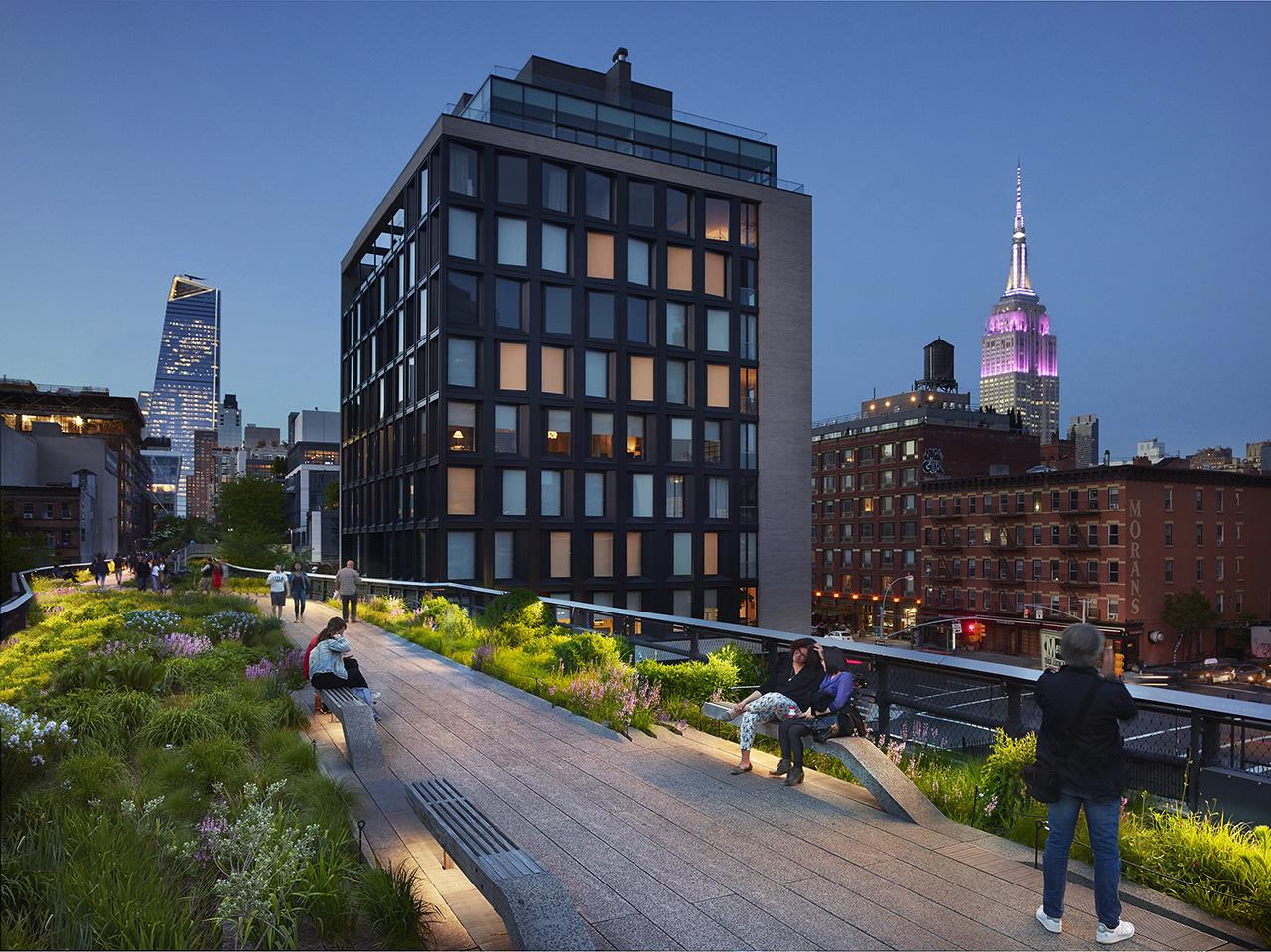 The High Line at dusk