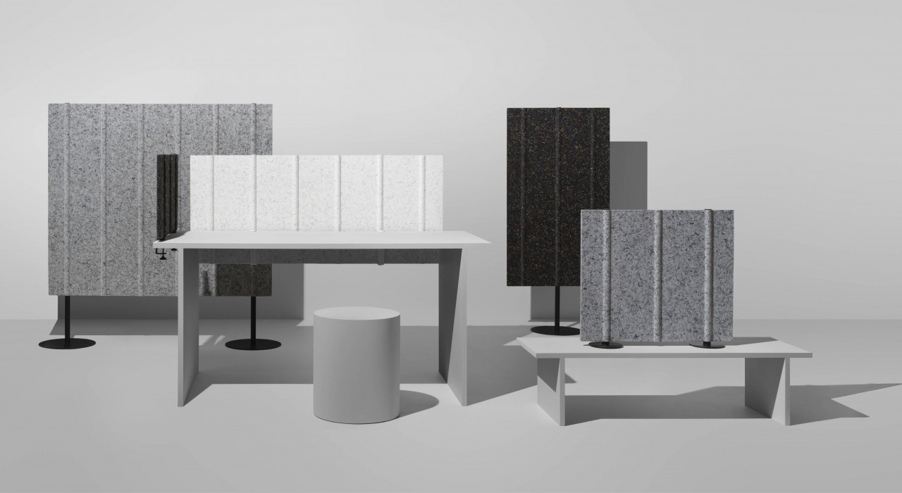 Form Us With Love and Baux Turn Textile Offcuts Into Acoustic Panels