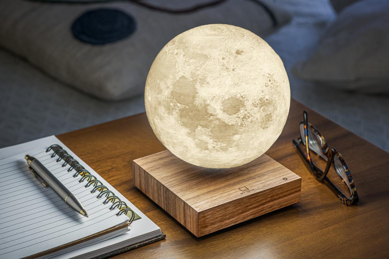 Bringing Moonlight Indoors With Gingko's New Smart Moon Lamp