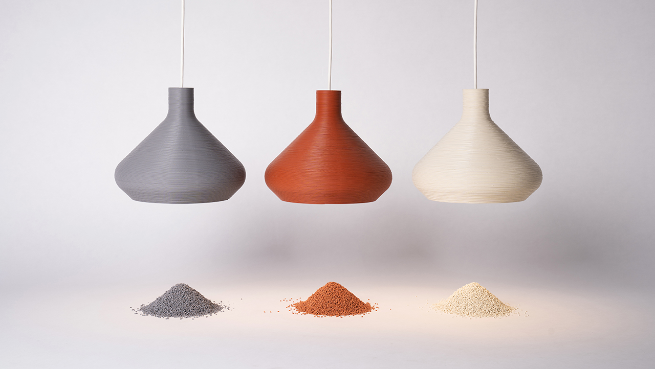 LightArt's Coil Collection Naturals Uses the Brand's Own Waste Materials