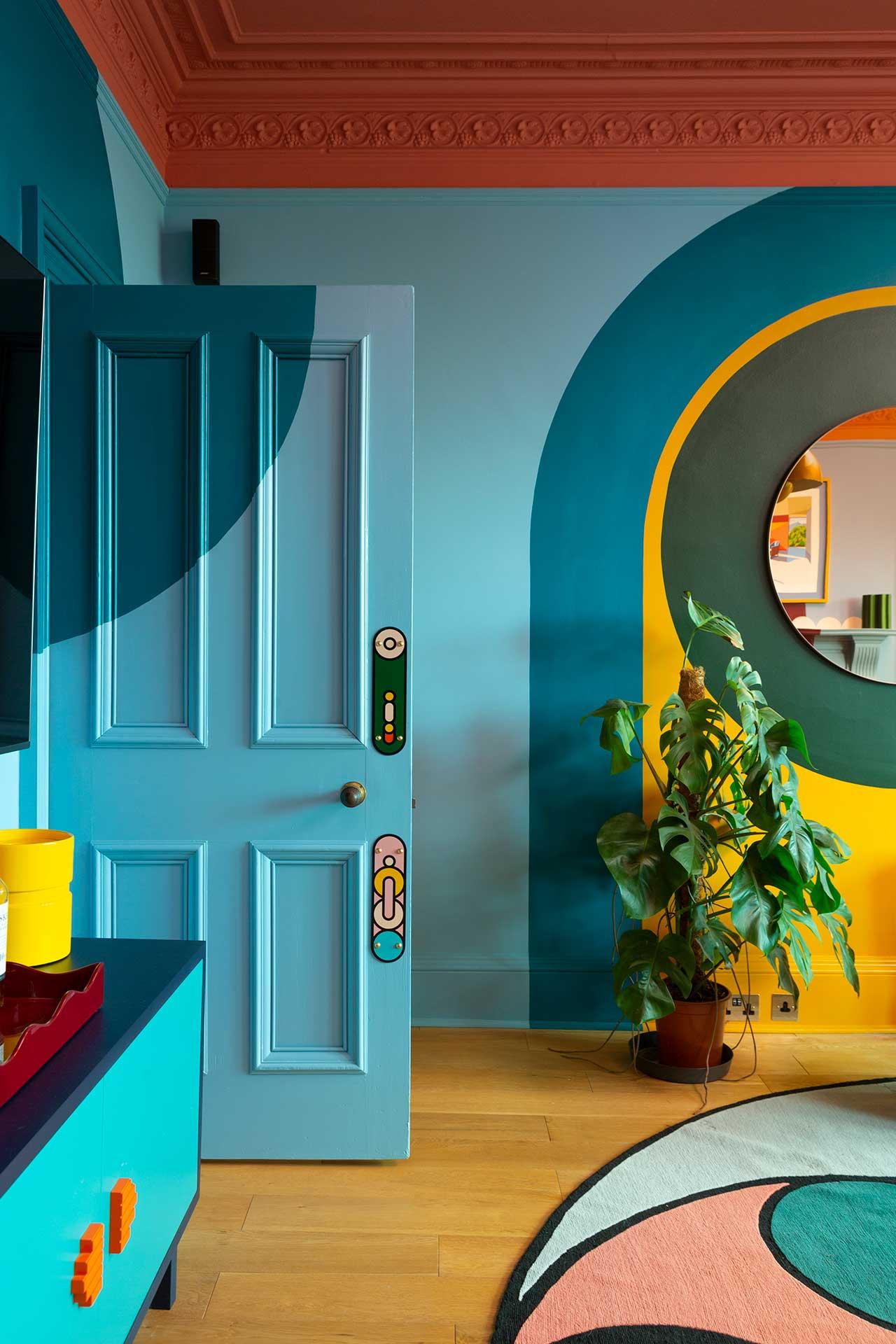1960s apartment design funky design sam buckley padstyle.com
