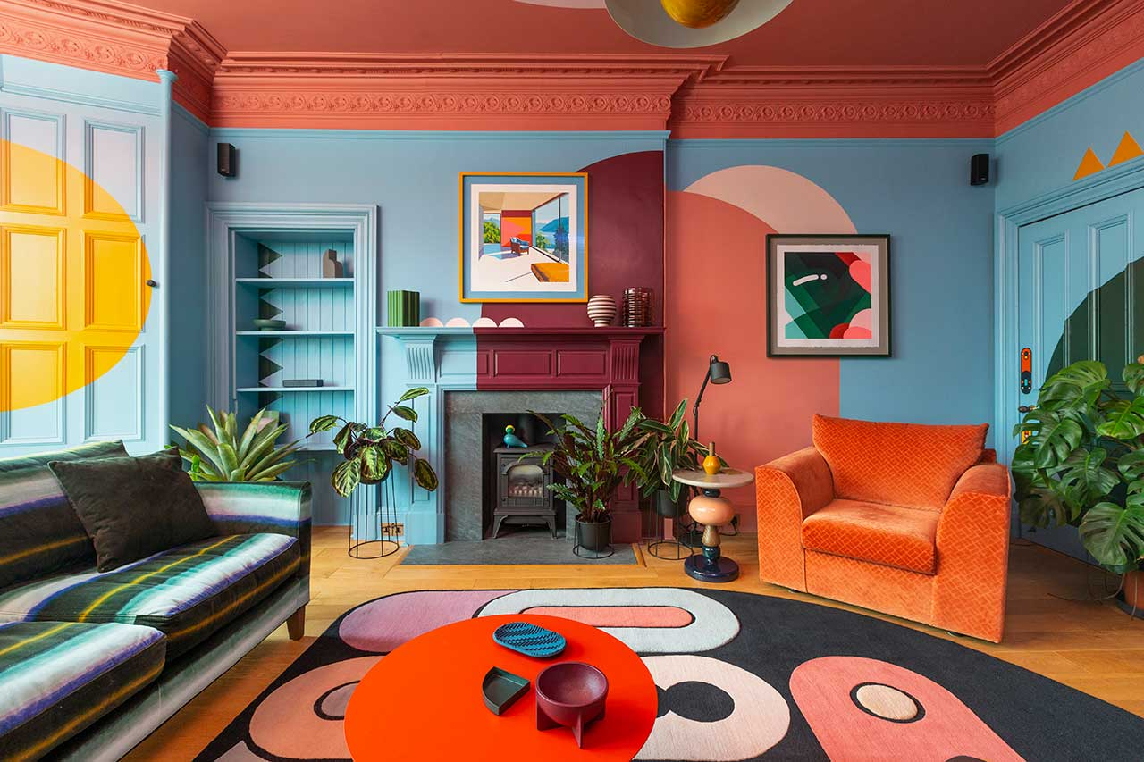 1960s apartment design funky design sam buckley be good to your pad padstyle.com