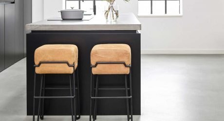 6 Modern Bar Stools That Will Draw Your Family Away From the TV for Dinner
