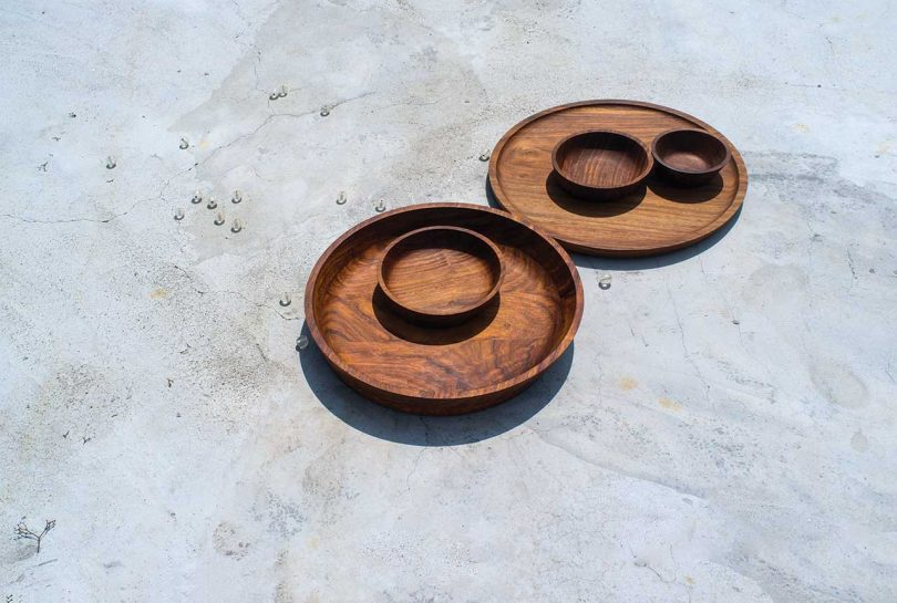 wood serving trays