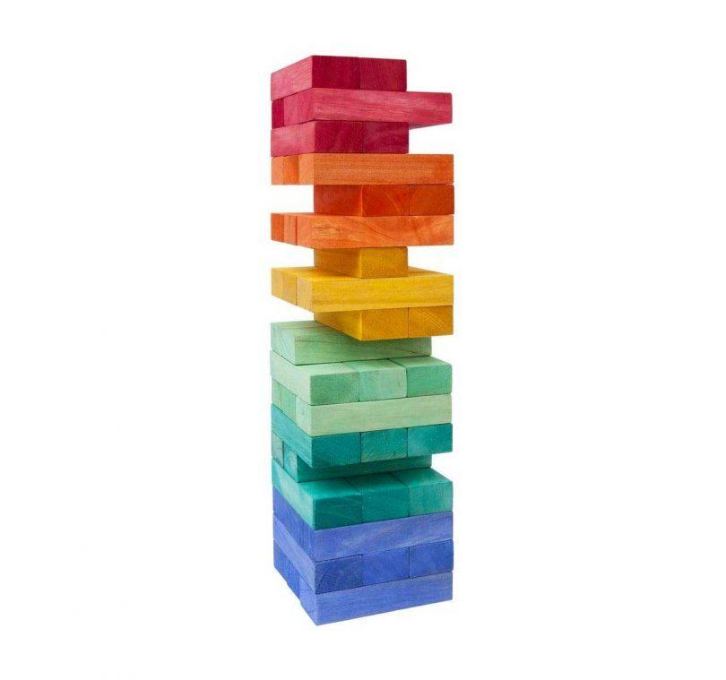 jenga jumbling tower game