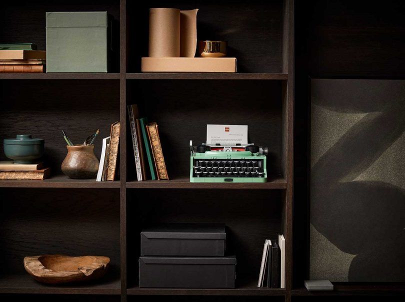 Take 5: A LEGO Typewriter, Polaroid x Keith Haring, Moon Lamp + the Haas Brothers