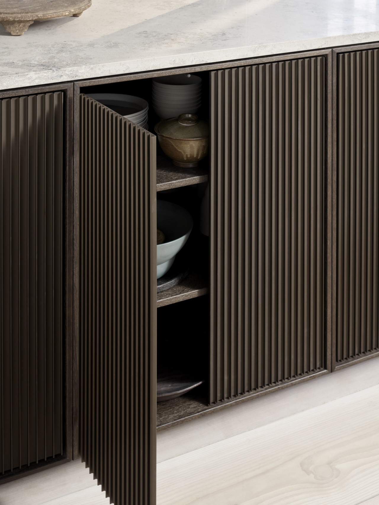 Vipp V2 open cabinet