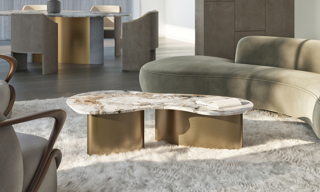 Natural Stone Veining in the Vitality Collection Brings It to Life