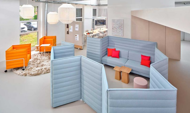 Vitra Club Office Leans Into the Collaborative Value of Working Together