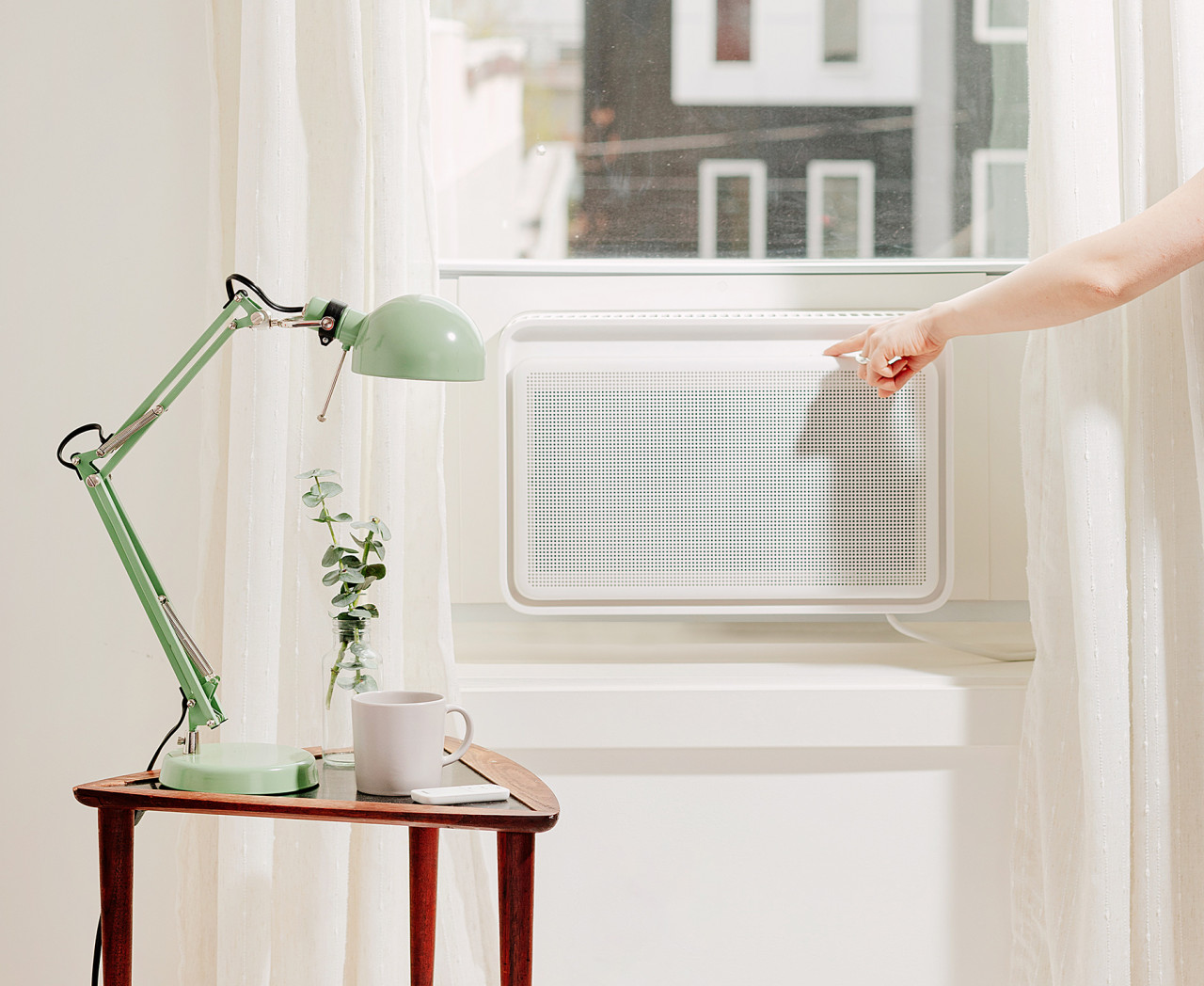 The Windmill Smart Window Air Conditioner Is Designed to Look as Cool as It Feels