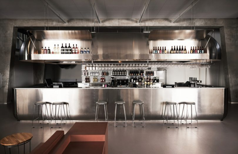 hostel lobby bar