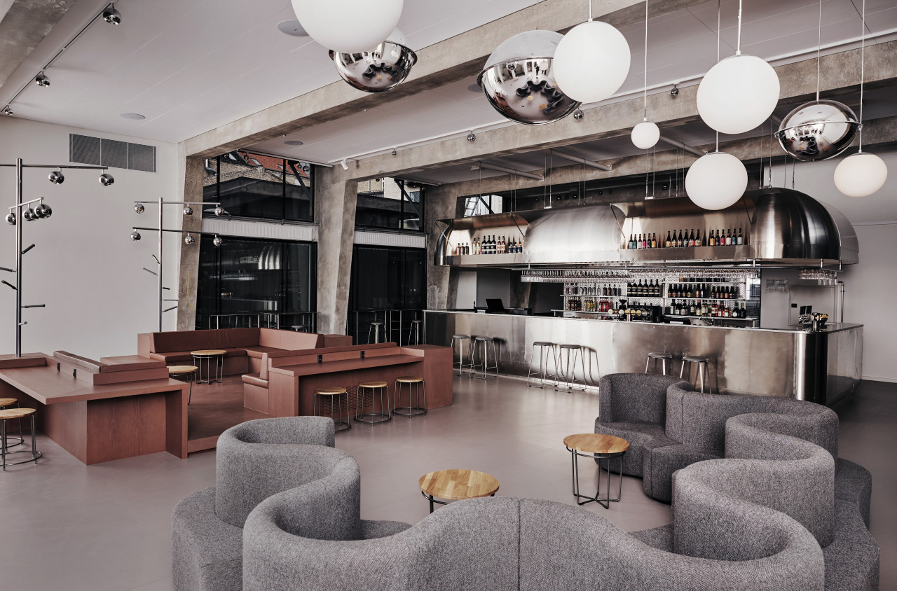 A Former Aarhus Public Library Is Transformed into a Luxury Design Hostel