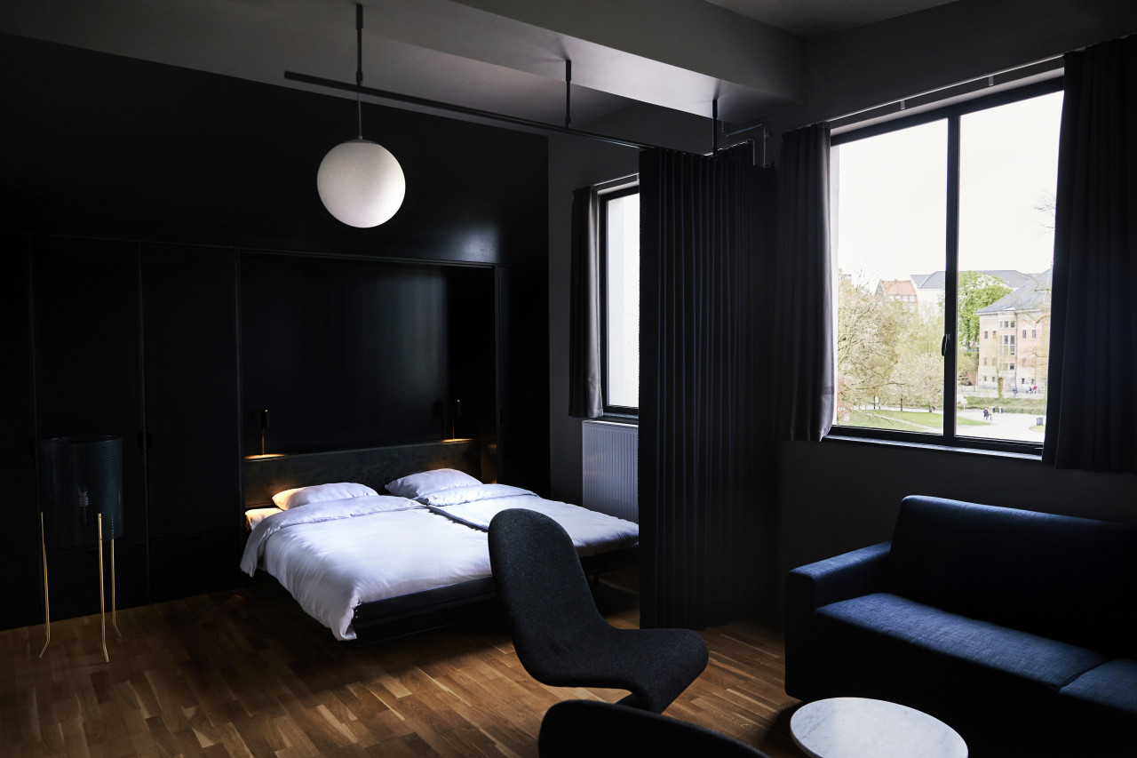 moody hotel room