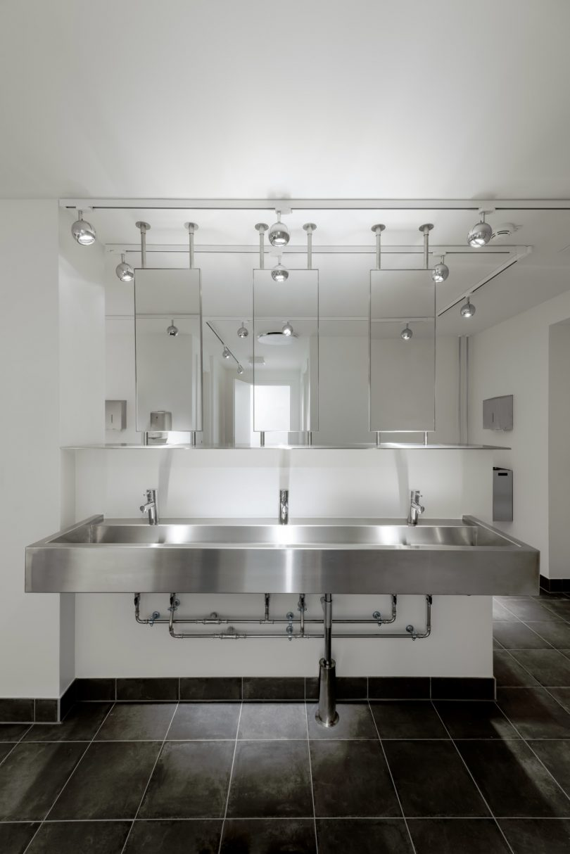 hostel bathroom