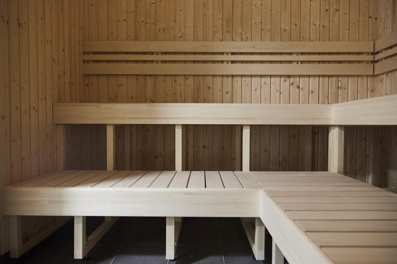 sauna in hostel hotel