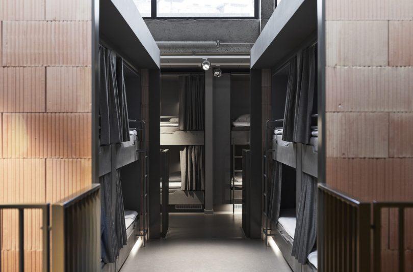 hostel bunk beds