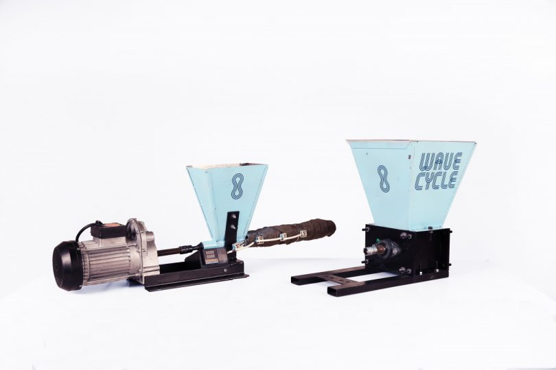 peças da máquina do projeto do ciclo das ondas