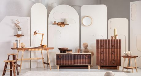 Jan Hendzel's Bowater Collection Highlights the Beauty of British Timber