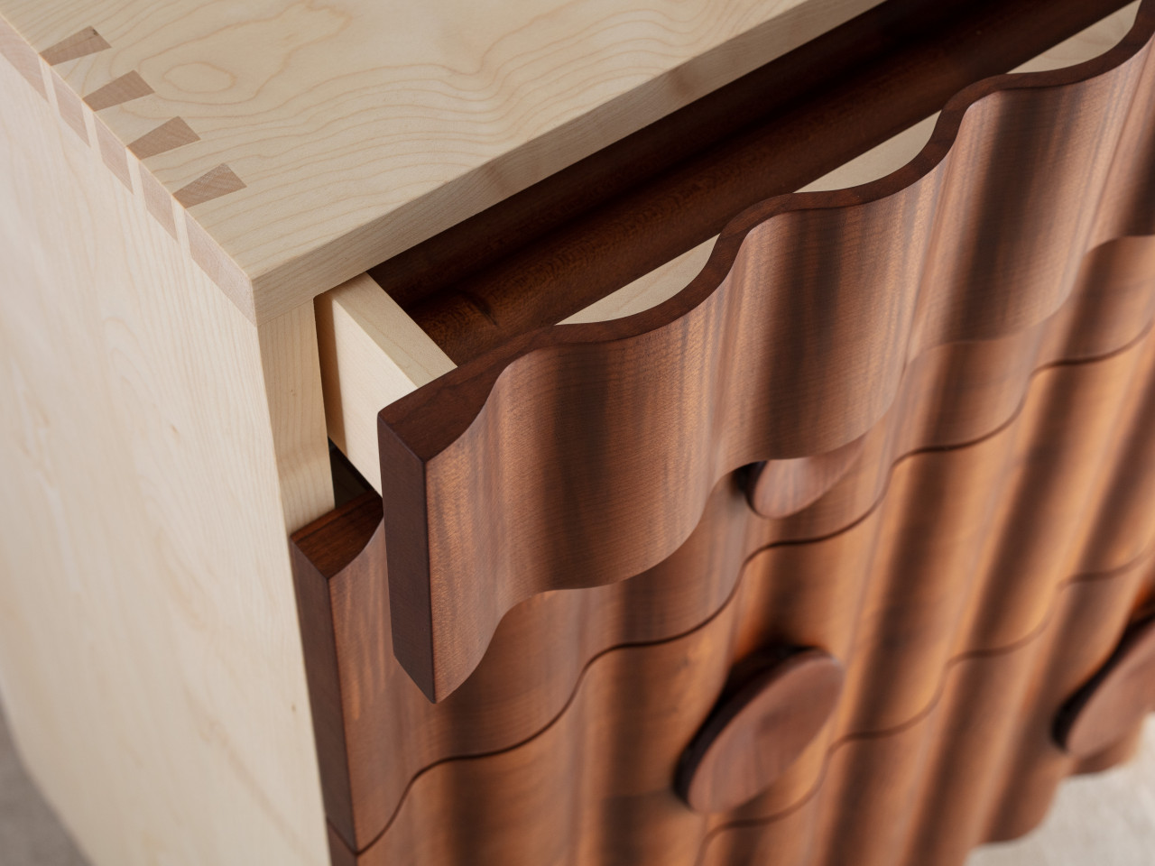 chest of drawers detail