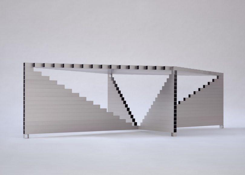 square tube table