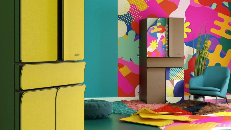 Karim Rashid KUSTOM modern refrigerator design