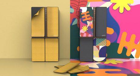 Karim Rashid Reimagines Appliance Design With the KUSTOM Refrigerator