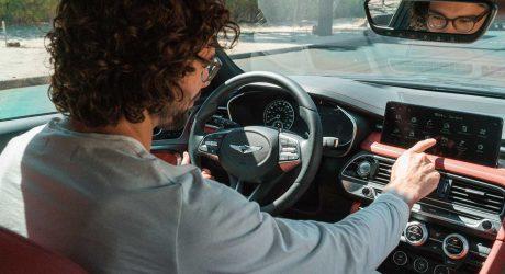 Details Drive Digital Artist Michael Kozlowski's Genesis G70 Art Car