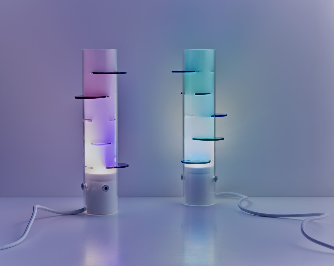 Oliver Vitry's Rainbow Lighting Is a Reflection on Philosophy + Perspective
