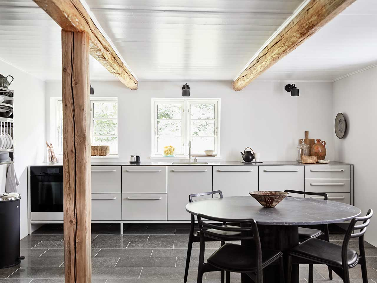 Vipp Turns a 1775 Farmhouse on the Danish Island of Lolland Right into a Lodge