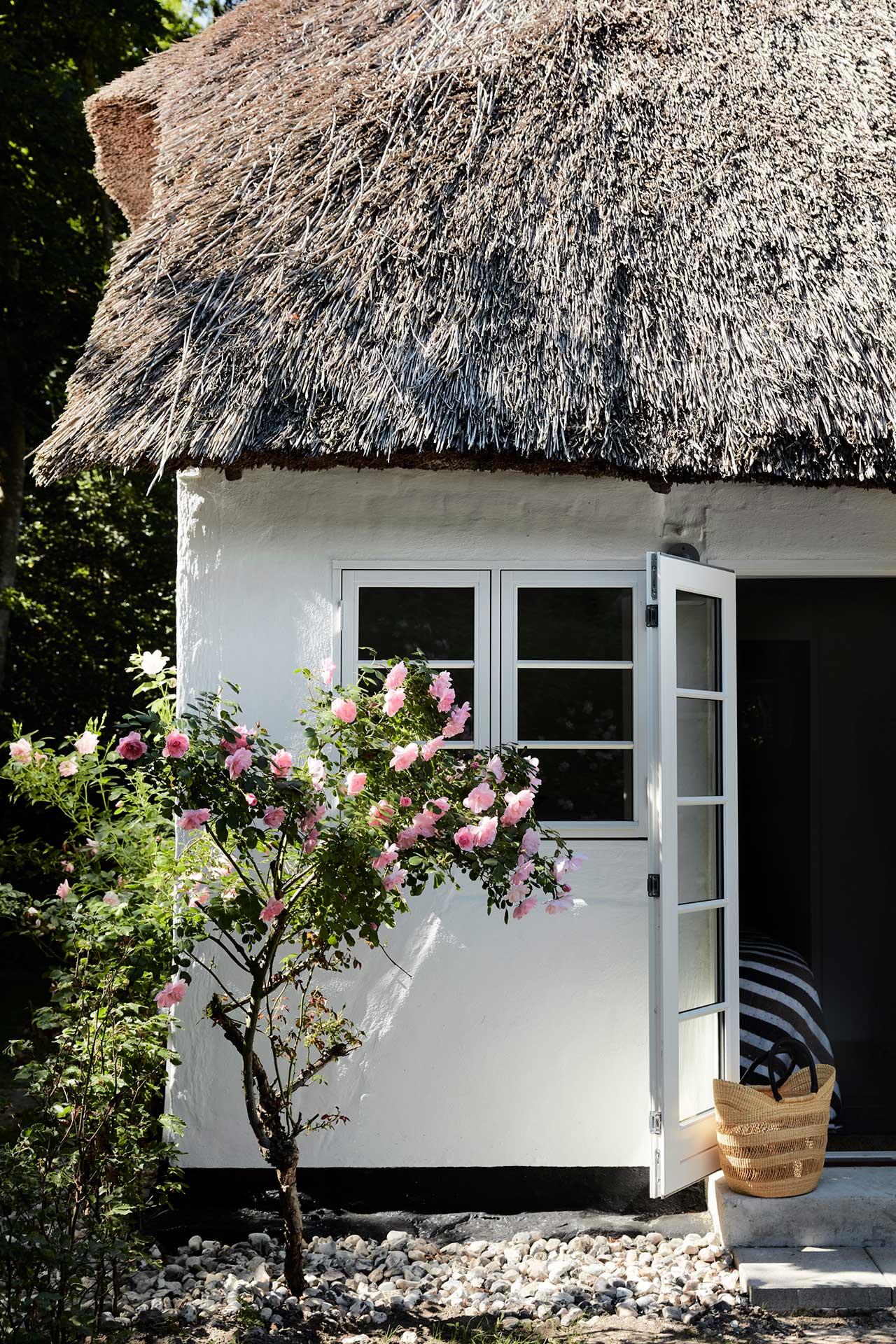 Corner of a cottage
