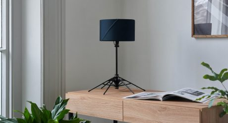 Anti Turns Discarded and Broken Umbrellas Into Desk and Table Lamps