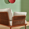 daybed with white cushions
