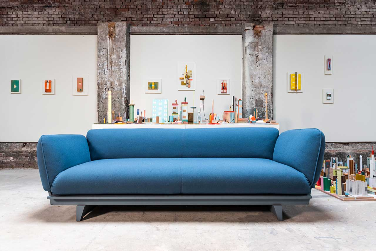 Floris Hovers Shares How He Reinterpreted the Sofa for Red Stitch