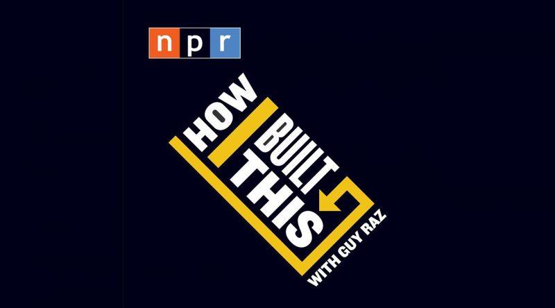 NPR How I Built This logo on black background