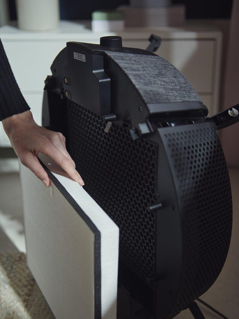 IKEA STARKVIND air purifier filter.