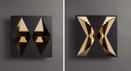 "Siba Sahabi's ""Imaginem Sui"" Exhibition Creates Kaleidoscopic Reflections"