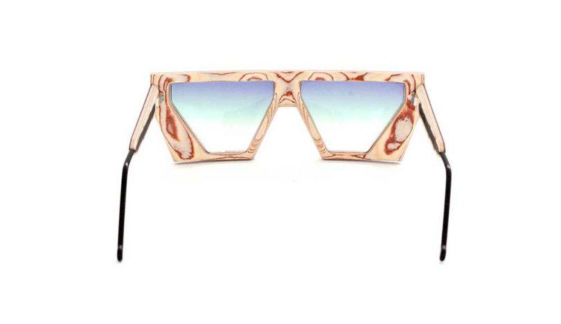 inside glasses frame