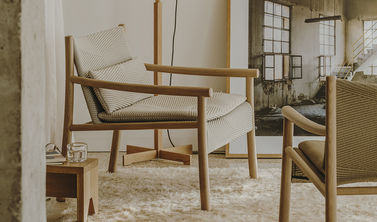 The Kata Lounge Chair Is Designed Around Sustainability