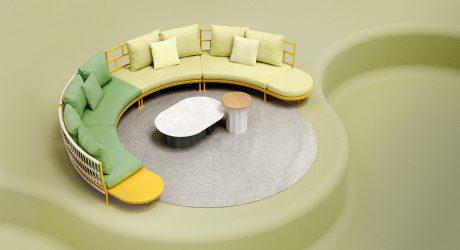Fresh + Versatile Outdoor Furniture by KunDesign
