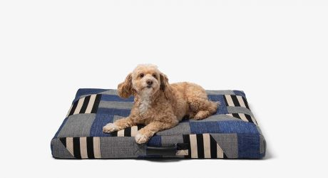 LAY LO Unveils One-of-a-Kind Dog Beds Made by Artists From Upcycled Fabrics