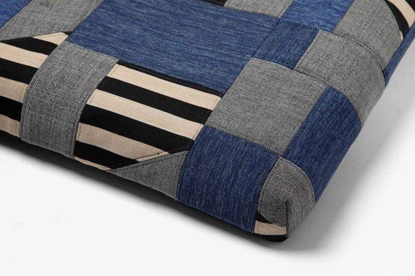 ReMade patchwork dog bed