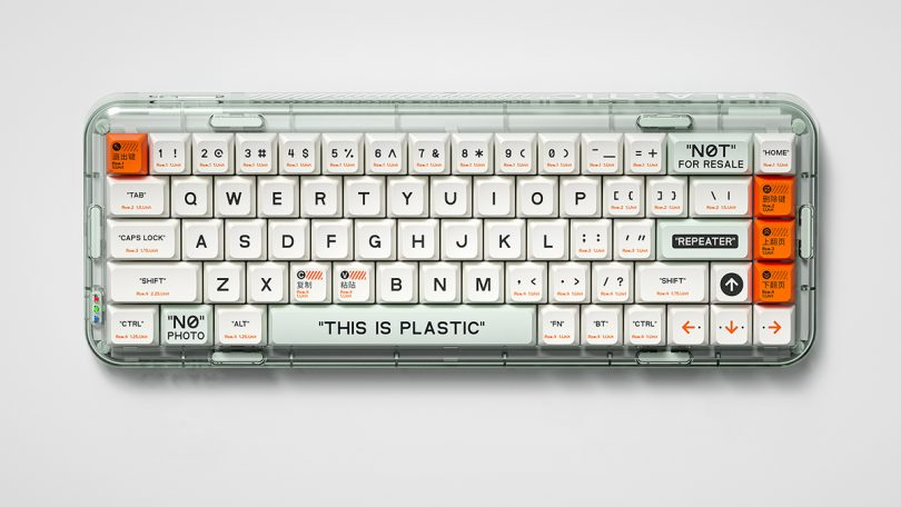 Mojo68 Mechanical Keyboard clear edition