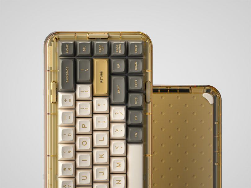 Mojo68 Mechanical Keyboard Ember